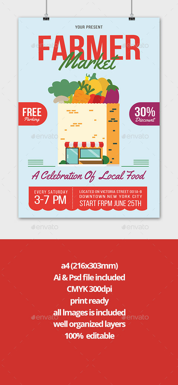 farmers market - Flyers Print Templates