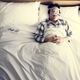 Man sleeping with an anti-snoring mask - PhotoDune Item for Sale