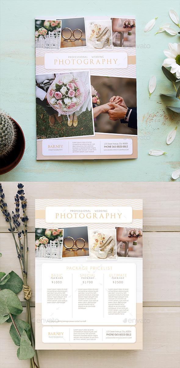 Wedding Photography Flyer 02 - Commerce Flyers