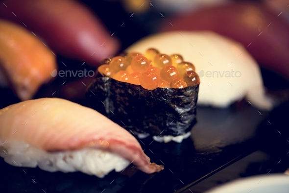 Japanese cuisine - Stock Photo - Images