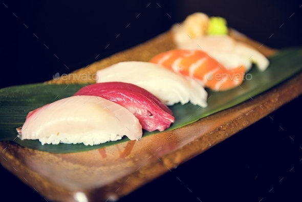 Japanese cuisine - Stock Photo - Images