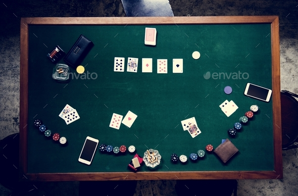 Gamble in casino betting - Stock Photo - Images