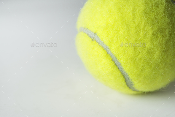 Closeup of tennis ball - Stock Photo - Images