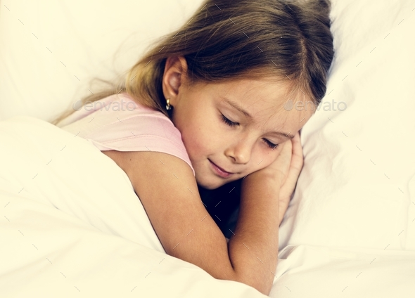 Young girl is sleeping - Stock Photo - Images