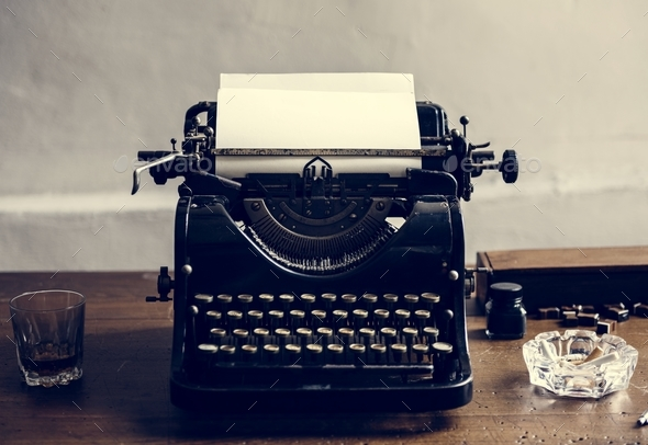 Vintage typewriter shoot - Stock Photo - Images