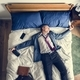 Drunk business man falling asleep as soon as he came back home - PhotoDune Item for Sale