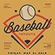 Baseball Tryouts Flyer - GraphicRiver Item for Sale
