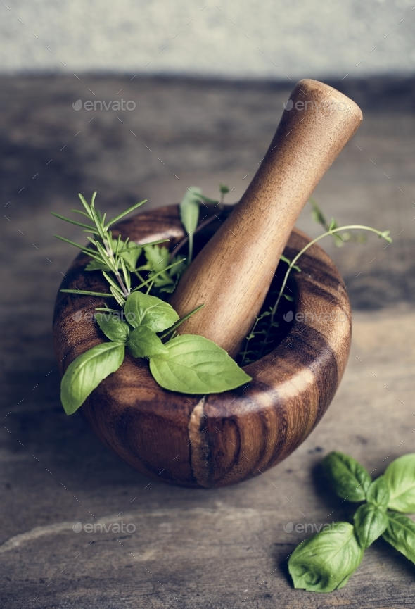 Herbal medicine - Stock Photo - Images
