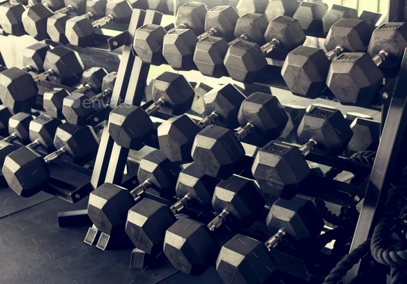 Fitness equipment - Stock Photo - Images