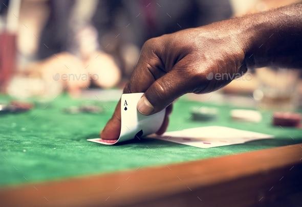 Adults gambling shoot - Stock Photo - Images