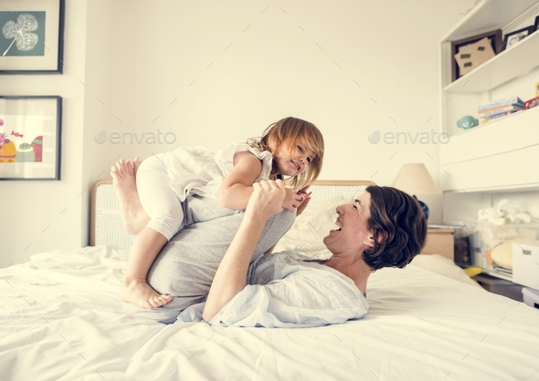 Mother and daughter quality time - Stock Photo - Images
