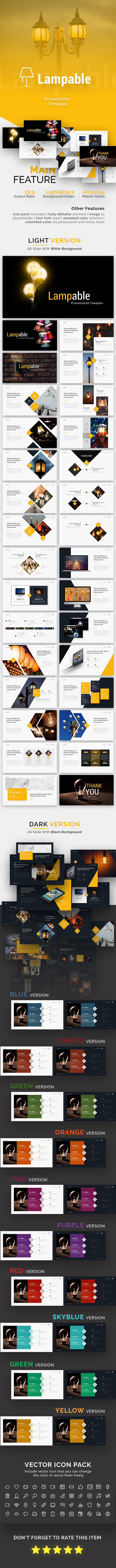 Lampable - Creative Powerpoint Template - Creative PowerPoint Templates