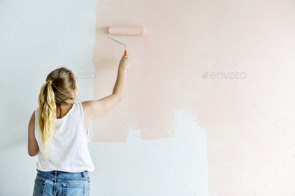 People renovating the house - Stock Photo - Images