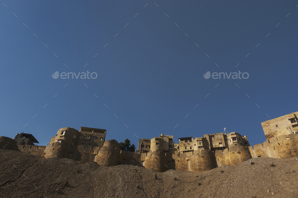 Jaisalmer Fort, Rajasthan, India - Stock Photo - Images