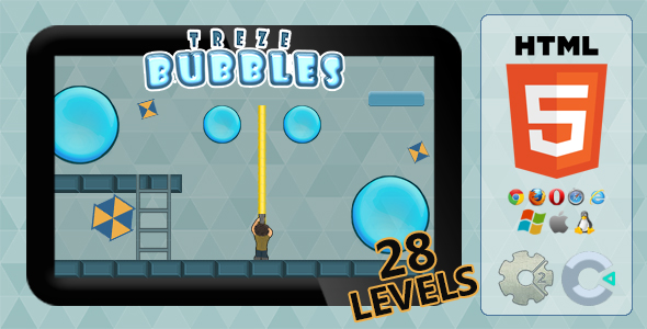 trezeBubbles - HTML5 Action game - CodeCanyon Item for Sale