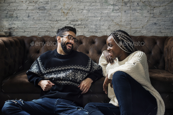 A couple spending quality time together - Stock Photo - Images