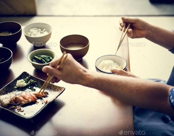 Japanese food - Stock Photo - Images