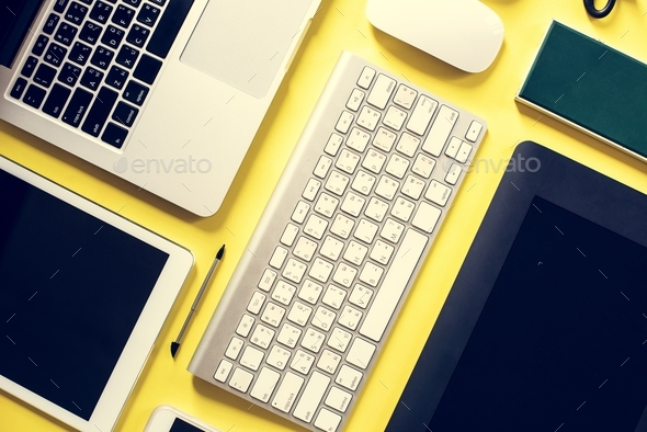 Digital device technology equipment gadget - Stock Photo - Images