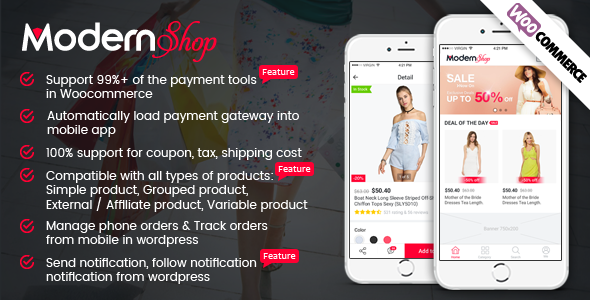 Full Mobile Woocommerce App for Woocommerce Store - IONIC 3