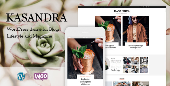 Image of Kasandra - A Responsive WordPress Blog and Shop Theme