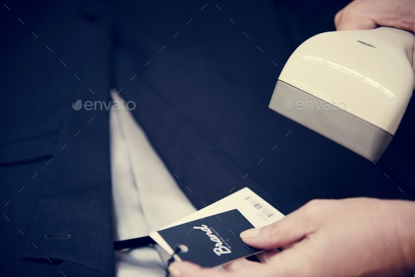 Barcode scanner - Stock Photo - Images