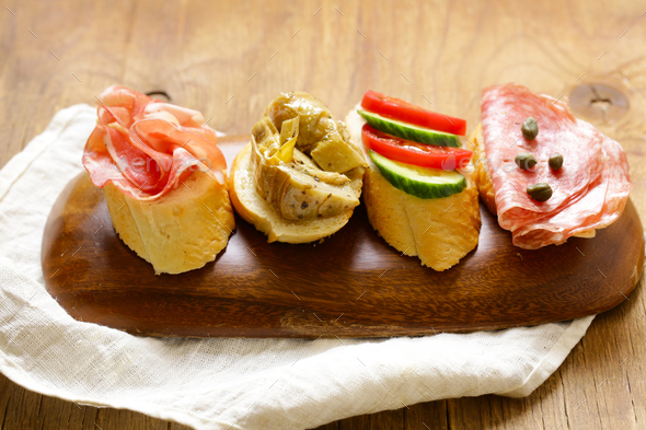 Sandwiches - Stock Photo - Images
