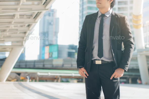 businessman with hope - Stock Photo - Images