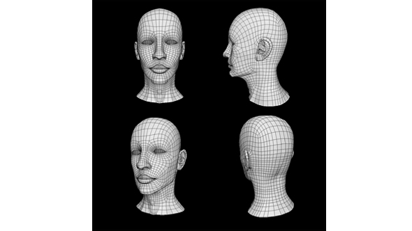 Head Low Poly Base Mesh - 3DOcean Item for Sale