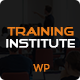 Education & Training Institute WordPress Theme