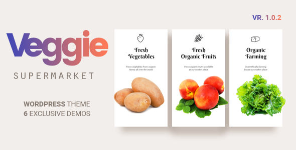 Veggie | Vegetable and Fruit Shop WordPress Theme - Shopping Retail