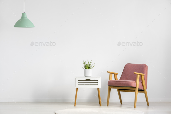 Armchair and table - Stock Photo - Images