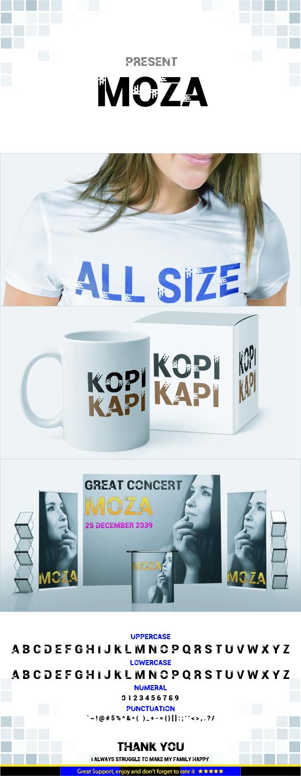 MOZA - Sans-Serif Fonts