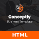 Conceptly - Business Multipurpose HTML template - ThemeForest Item for Sale