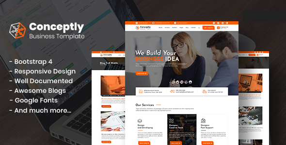 Conceptly - Business Multipurpose HTML template - Business Corporate