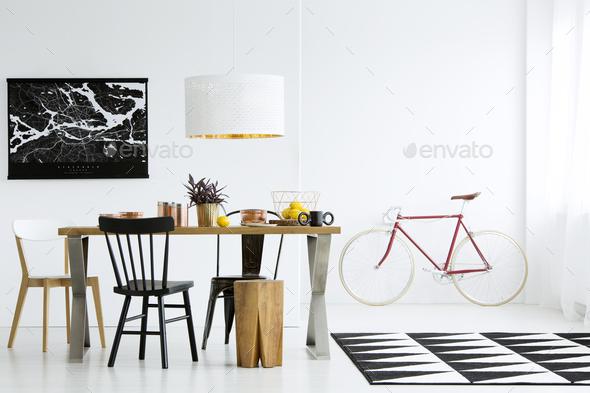 Lemons on oak table - Stock Photo - Images