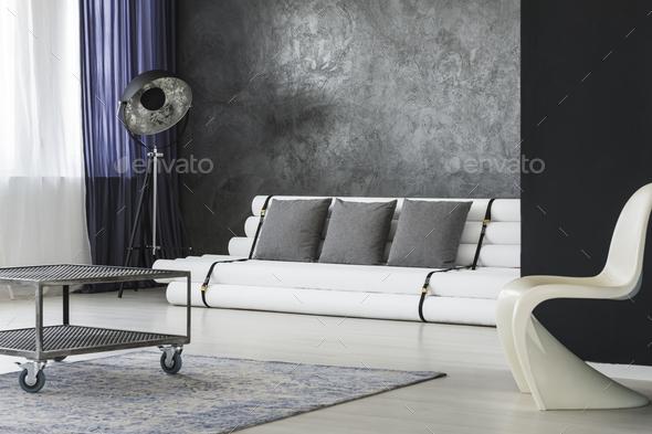 Designer apartment interior - Stock Photo - Images