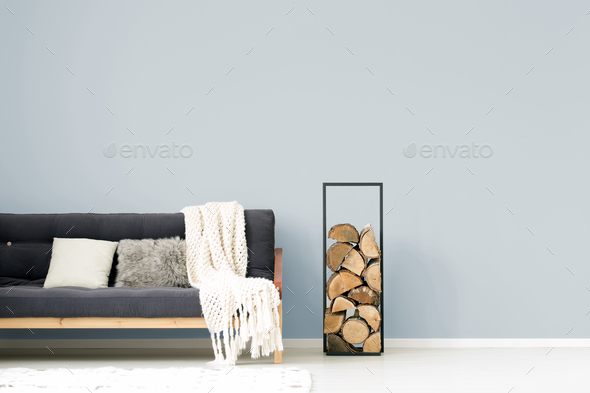 Living room interior with sofa - Stock Photo - Images
