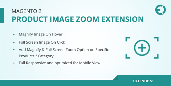 Magento 2 Product Image Zoom Extension - Magnify on Hover / Click - CodeCanyon Item for Sale