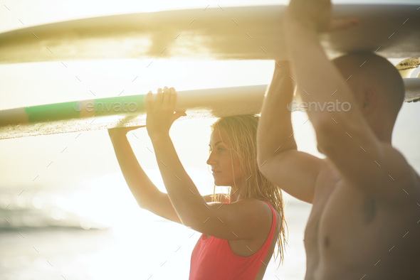People on vacation - Stock Photo - Images