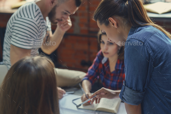Business people indoors - Stock Photo - Images