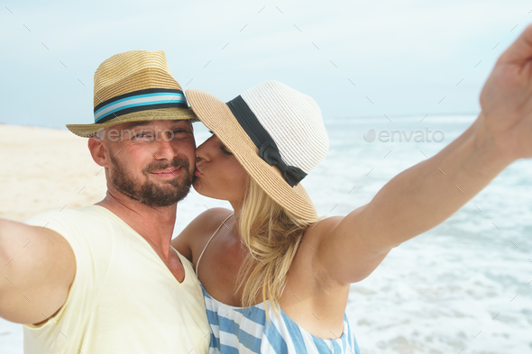 Young romantic couple - Stock Photo - Images