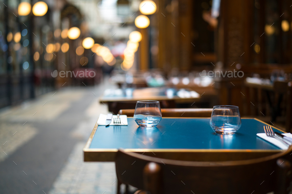 In the restaurant - Stock Photo - Images