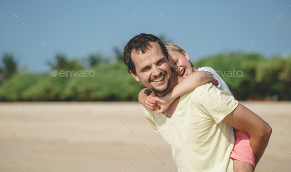 Family on vacation - Stock Photo - Images