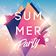 Summer Party Creative Flyer - GraphicRiver Item for Sale