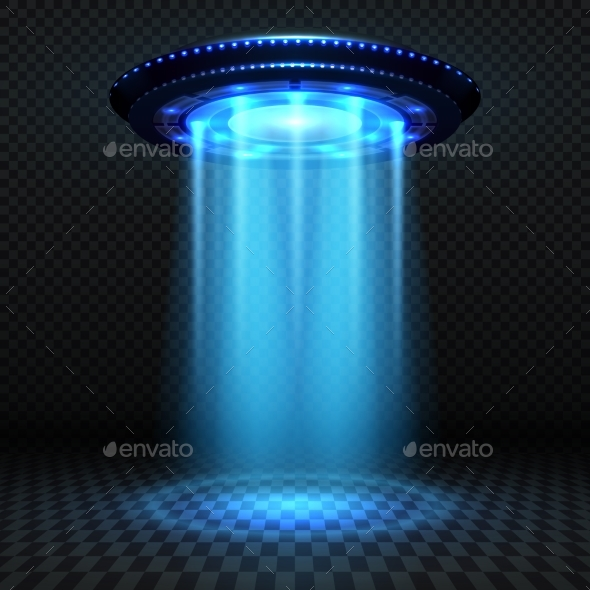 Aliens Futuristic Spaceship - Miscellaneous Vectors