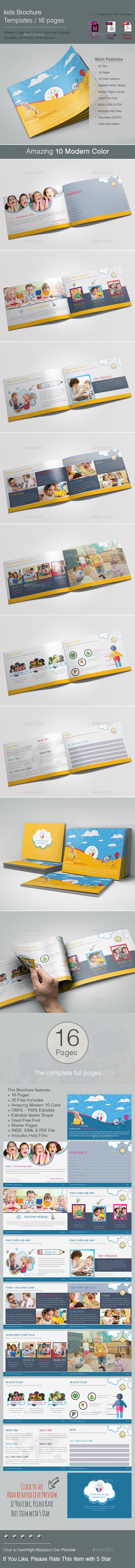 kids Brochure - Brochures Print Templates