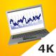 3D Vector Laptop Explainer/Infografics Presentation - VideoHive Item for Sale