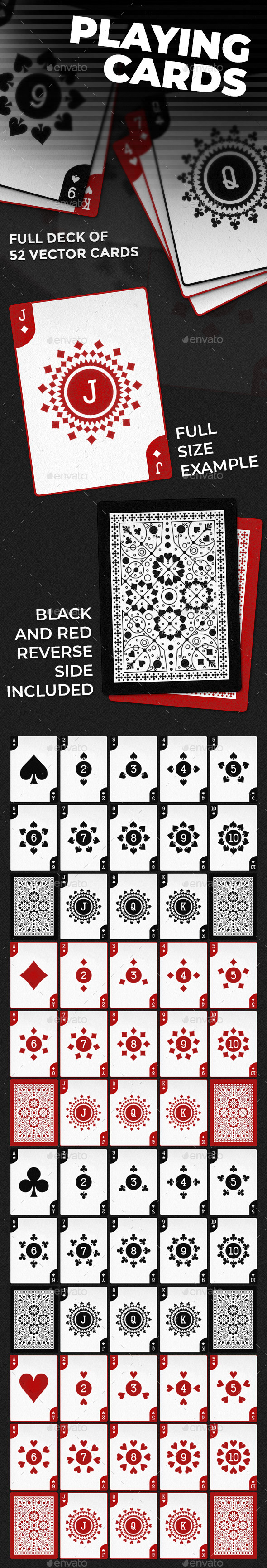 Playing Cards - Miscellaneous Game Assets