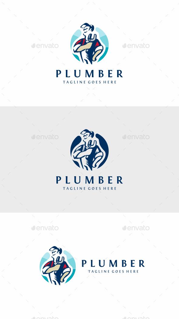 Plumber - Humans Logo Templates