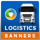 Transport & Moving HTML5 Banners - 7 Sizes